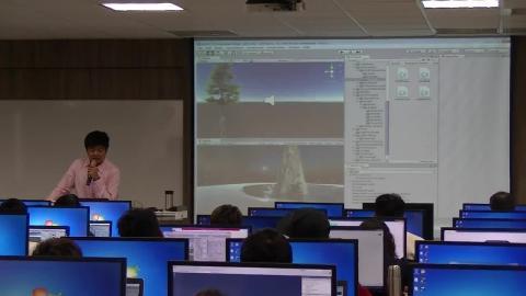 20170211_導入課程:Unity 3D 遊戲引擎程式設計_羅見順主任_下午場.mp4