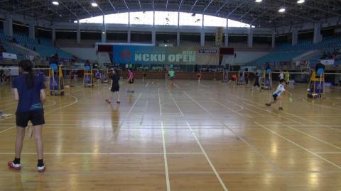 第24屆成大羽球公開賽  邁出國際第一步